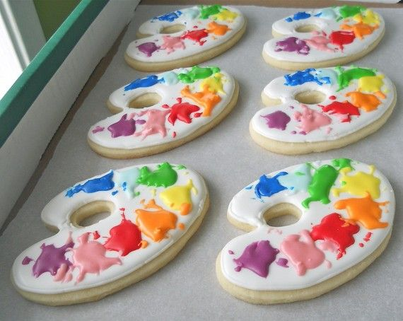 cute cookies for a special day in class!