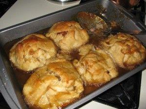 PA Dutch Apple Dumplings - just like Amanda McAfee (my grandmother use ...