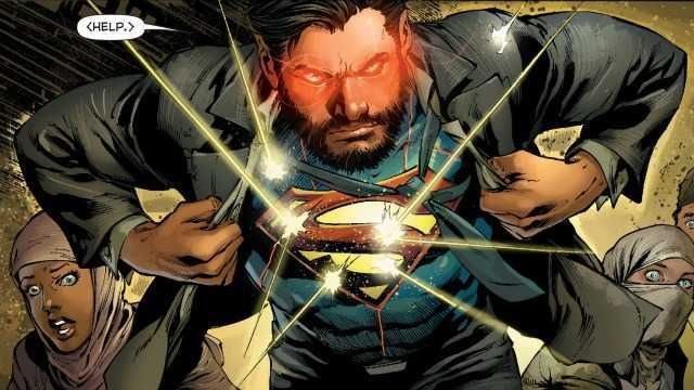 Bearded Superman Pin by Bruno Campelo o...