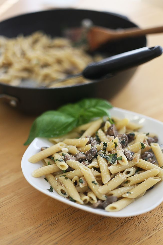 Penne With Mascarpone Recipe — Dishmaps
