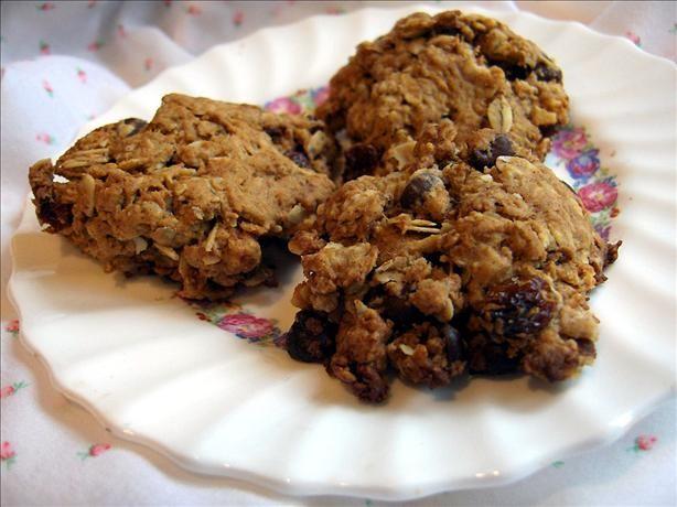 Simple Oatmeal Cookies or Cowboy Cookies   Recipe
