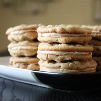 Oatmeal Peanut Butter Cookies III | food | Pinterest