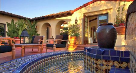 Spanish Style Patio Dream Home Pinterest