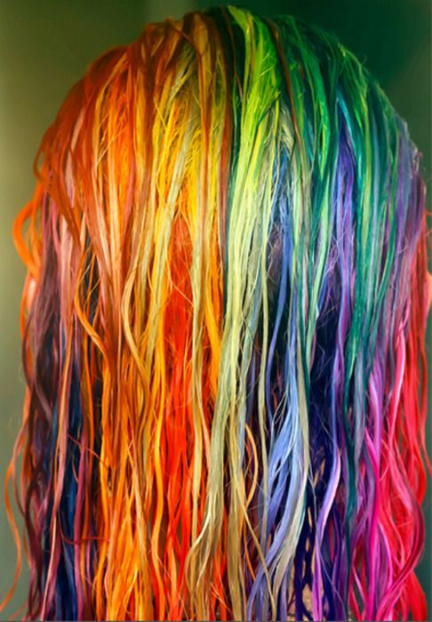 Hairhair Dyedyerainbowcolorful  Awesome Hair  Pinterest