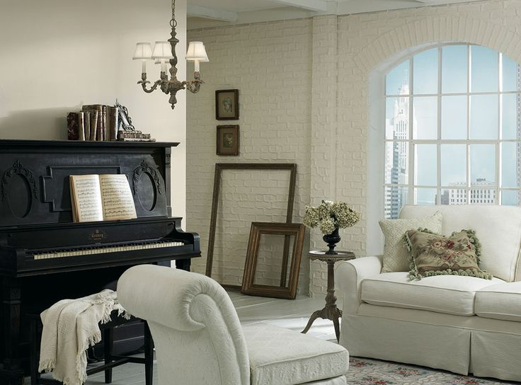 Neutral Earthy Colors Pair Well With Warm Whites Creating A Room