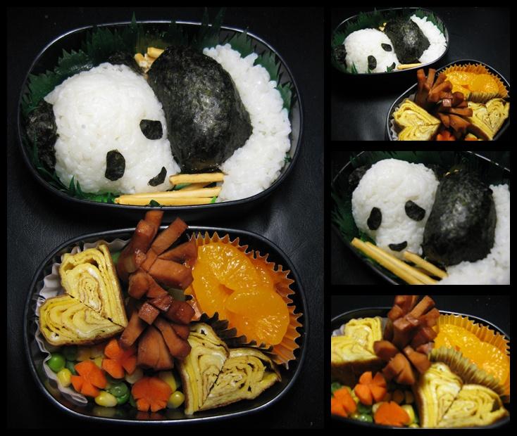 panda bento box pandaspiration pinterest. Black Bedroom Furniture Sets. Home Design Ideas