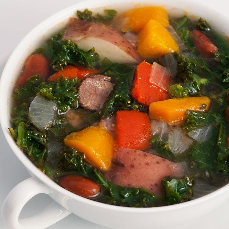 Portuguese Kale Soup | Soups and Stews | Pinterest