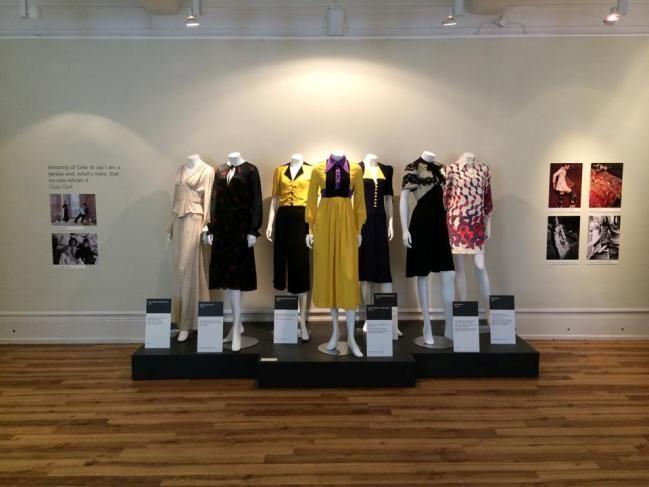 Manchester Gallery of Costume: Ossie Clark and Celia Birtwell | Fashion blog | Oxfam GB #vintage # fashion #OssieClark