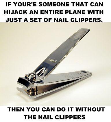 TSA Frustration
