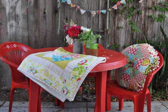 Painted Patio Furniture For The Home Pinterest