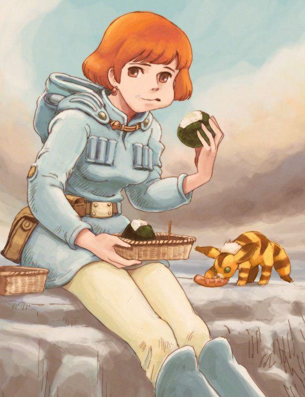 Nausicaa | Studio Ghibli | Pinterest
