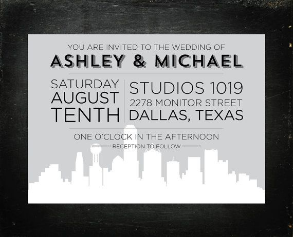 Wedding Invitations Dallas correctly perfect ideas for your invitation layout