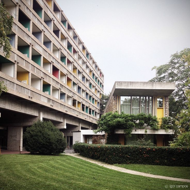 Maison du br sil le corbusier paris architecture pinterest - Maison du bresil paris ...