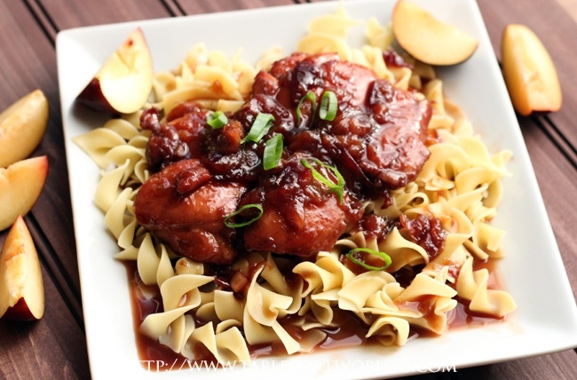 PW Wednesday: Honey Soy Plum Chicken » Table for Two