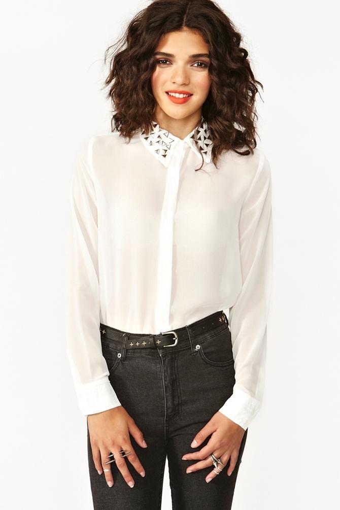 White Blouse Online Shopping 20