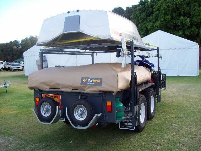 Unique Custom Built All Alloy Chasy As Well Camper Trailer For Sale In