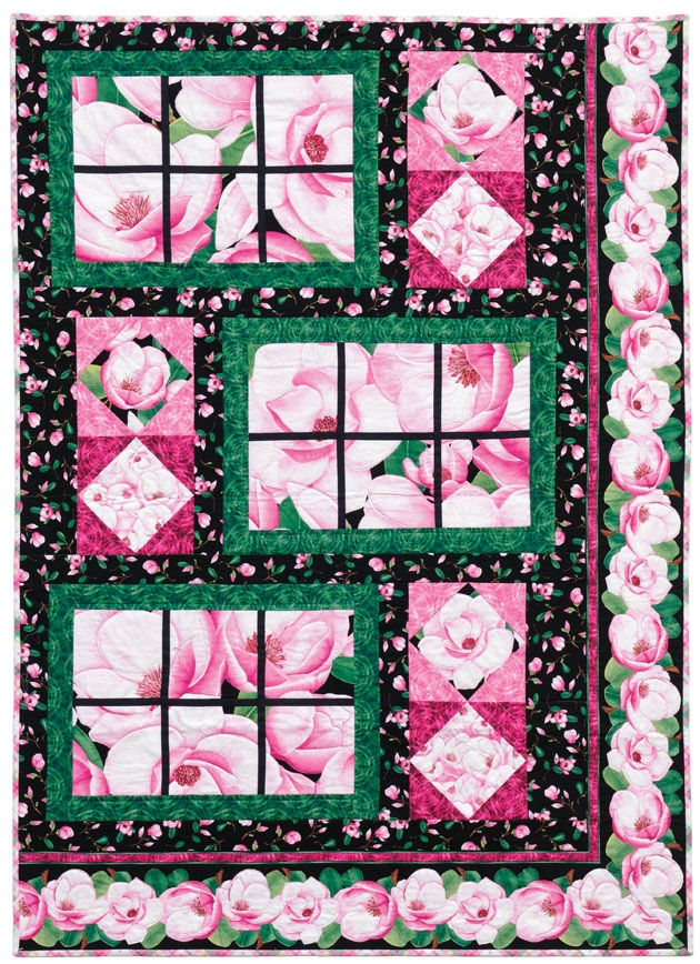 Flora Timeless Treasures Quilts/Quilting Pinterest