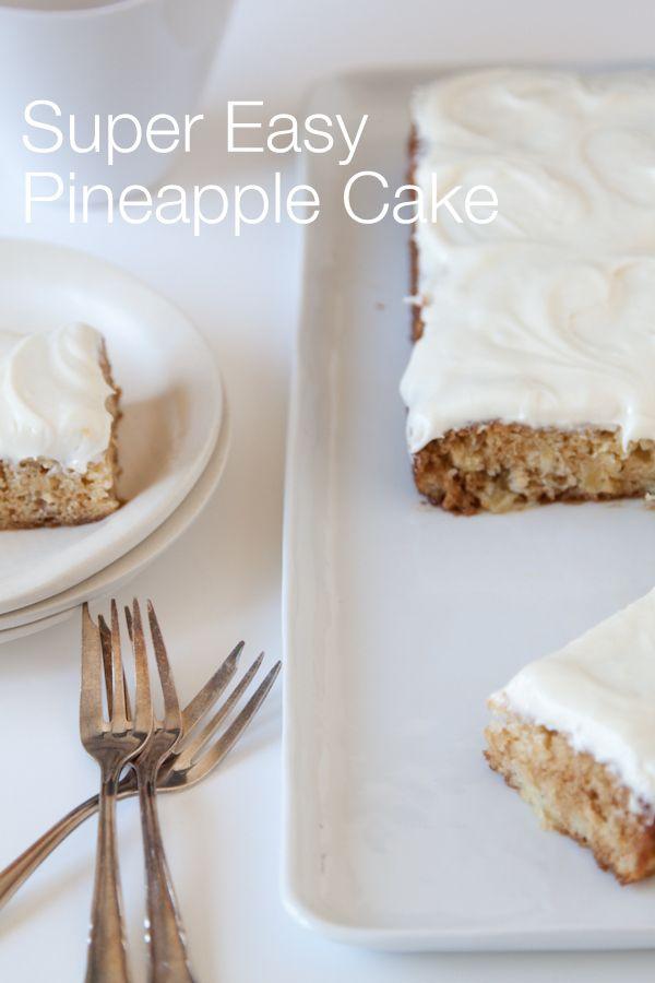 Pineapple Breakfast Cake + New Ceramics | Recipe