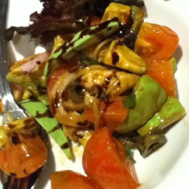 Lobster + avocado salad...