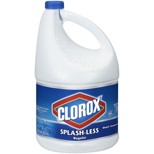 Clorox Splash-Less Regular Bleach, 1.35 gal