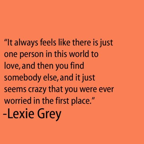 lexie grey...love Greys Anatomy  Quotes and Stuff  Pinterest