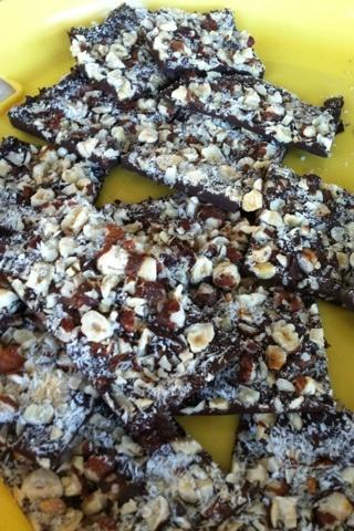Chocolate-Orange Hazelnut Bark Recipe — Dishmaps