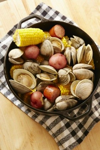stove top clam bake