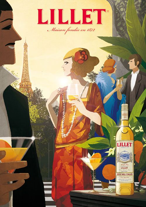 Lillet aperitif wine sweet up your life pinterest for Cocktail lillet