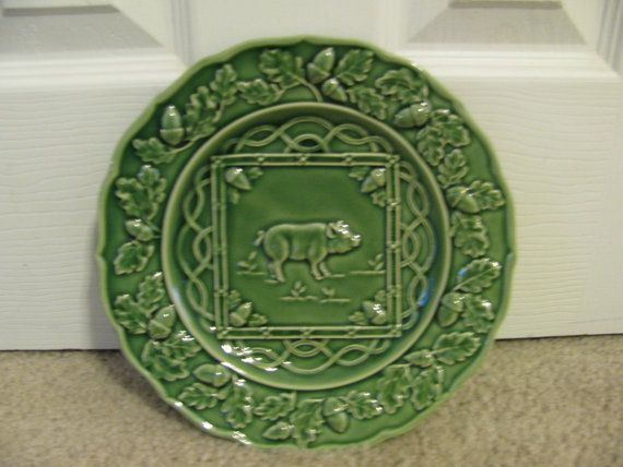 Bordallo pinheiro pig plate made in portugal - Bordallo pinheiro portugal ...