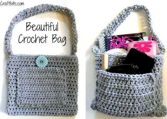 Beautiful Crochet Bags : Beautiful Crochet Bag Crochet-Knit-Sew! Pinterest