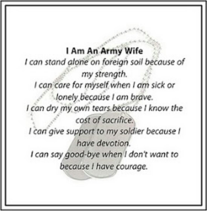 army wife quotes and poems quotesgram