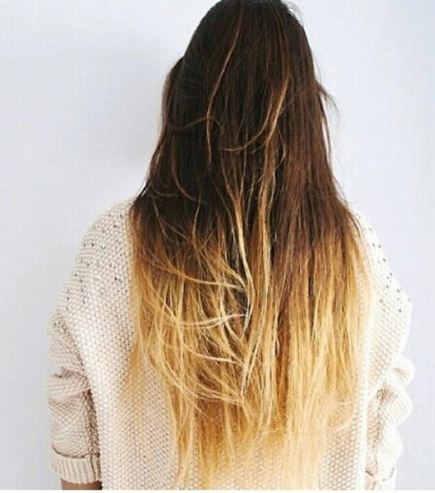 one length hairstyles : Ombre Straight Hair Tumblr Ombre straight hair