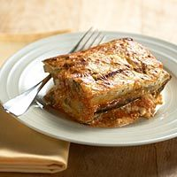 Eggplant Ricotta Bake #eggplant #recipe #vegetarian