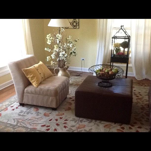 Slipper chair in the living room for the home pinterest