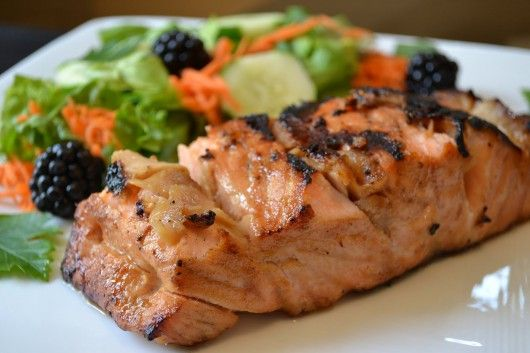 Easy Grilled Salmon | Good Eats | Pinterest