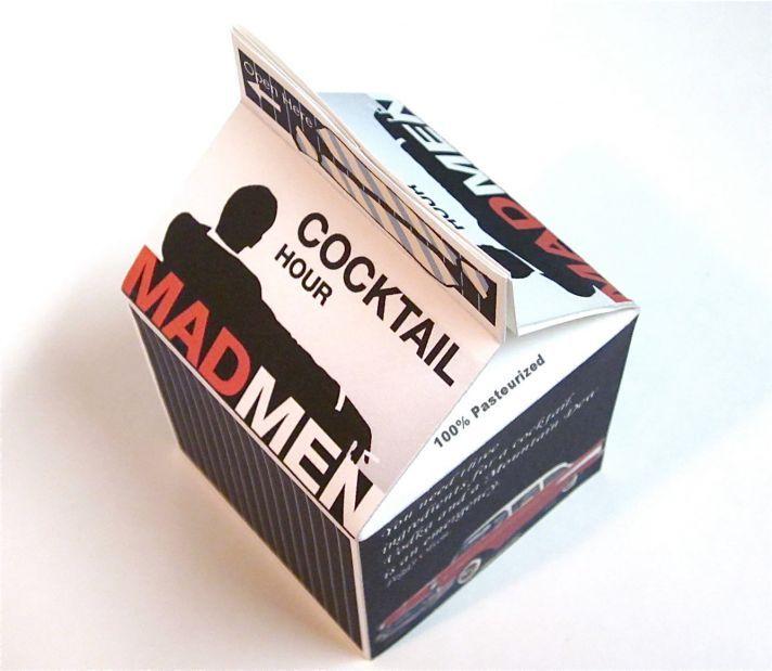 Mad men wedding favors box wedding ideas one day pinterest