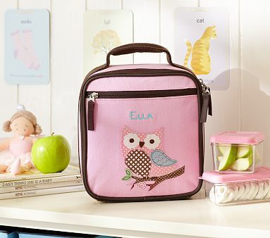 I love the Owl Preschool Lunch Bag on potterybarnkids.com