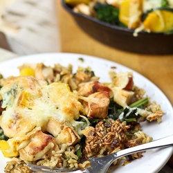 Crispy Rice and Turkey Casserole | Stuff to Stuff | Pinterest