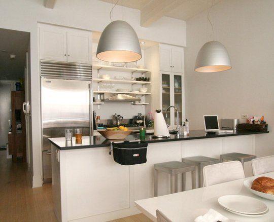 Neat Beautiful Open Kitchen Shelving Organization Inspiration From