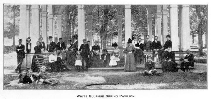 Montgomery white sulphur springs resort during the civil war the