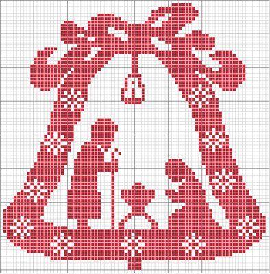 Campanella di Natale « crocettando