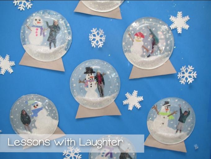 Snow Globes Kiddos Pinterest