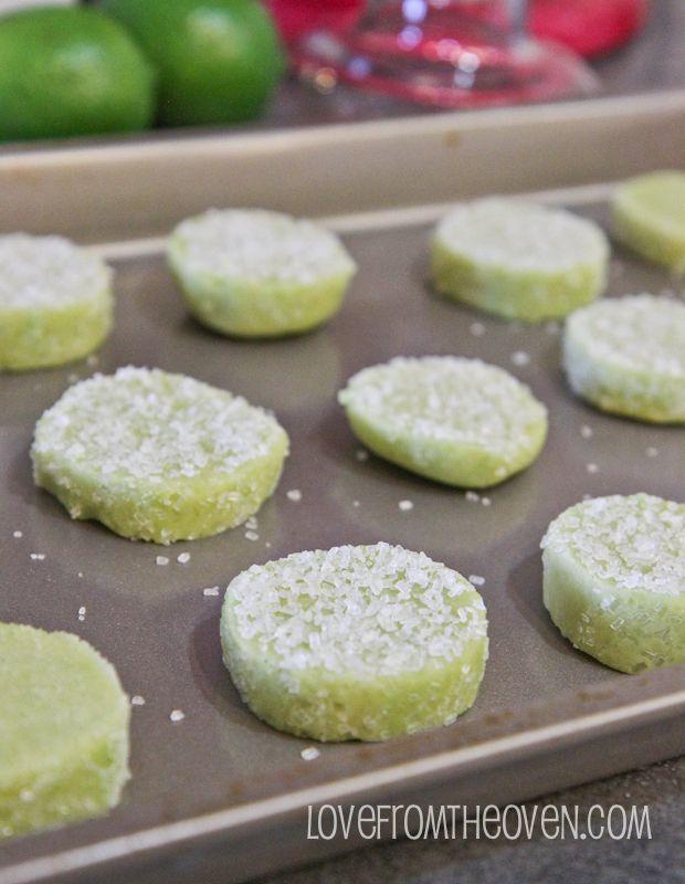 Margarita Cookies With Salty Sweet Tequila Glaze | Recipe