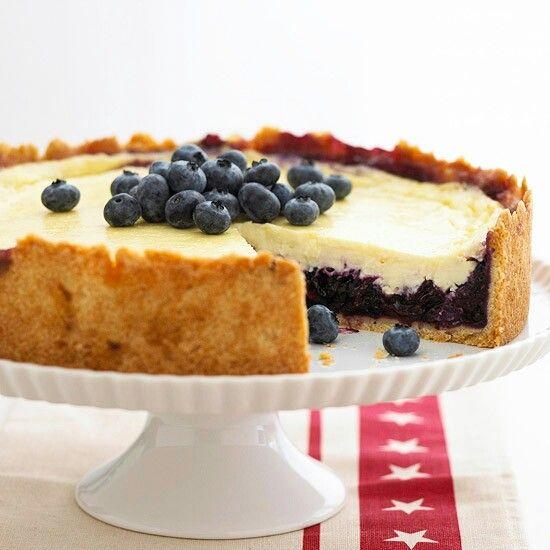 Blueberry sour cream cheesecake | Cheesecakes | Pinterest