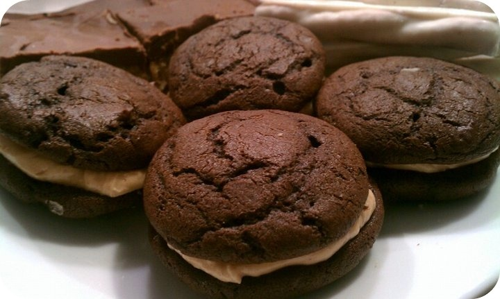 ... Measures: Tried & True Tuesday: Chocolate Peanut Butter Whoopie Pies
