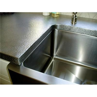 Stainless Steel Sink Countertop : Stainless Steel Countertop...for vanity section between sinks in ...