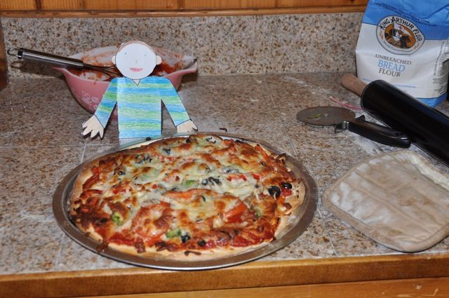 searching for a thin crust pizza dough recipes I can roll out and ...
