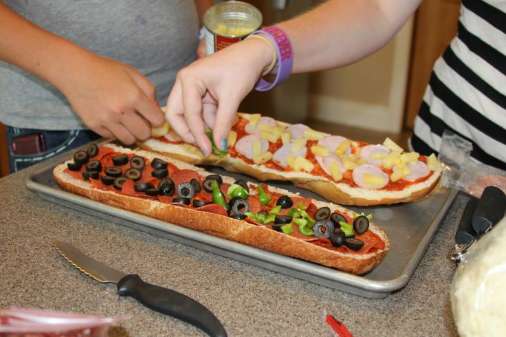 French Bread Pizza | Main Dishes | Pinterest