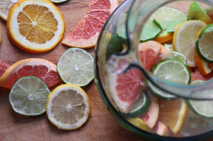 Sparkling Basil & Citrus Water from Baker by Nature