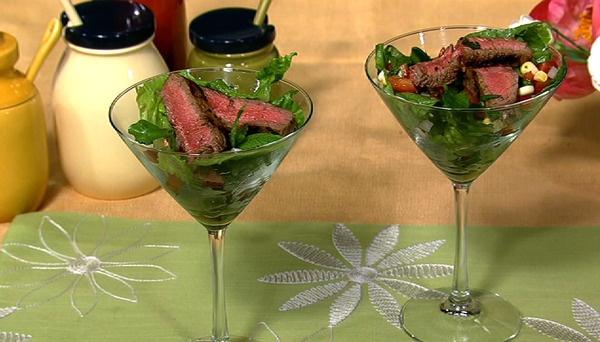 the chew | Recipe  | Jamika Pessoa's Mojito Steak Salad